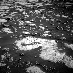 Nasa's Mars rover Curiosity acquired this image using its Right Navigation Camera on Sol 2657, at drive 2030, site number 78
