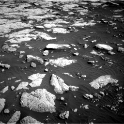 Nasa's Mars rover Curiosity acquired this image using its Right Navigation Camera on Sol 2657, at drive 2072, site number 78