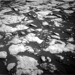 Nasa's Mars rover Curiosity acquired this image using its Right Navigation Camera on Sol 2657, at drive 2102, site number 78