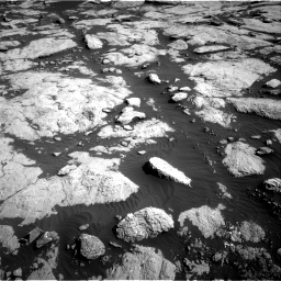 Nasa's Mars rover Curiosity acquired this image using its Right Navigation Camera on Sol 2657, at drive 2120, site number 78