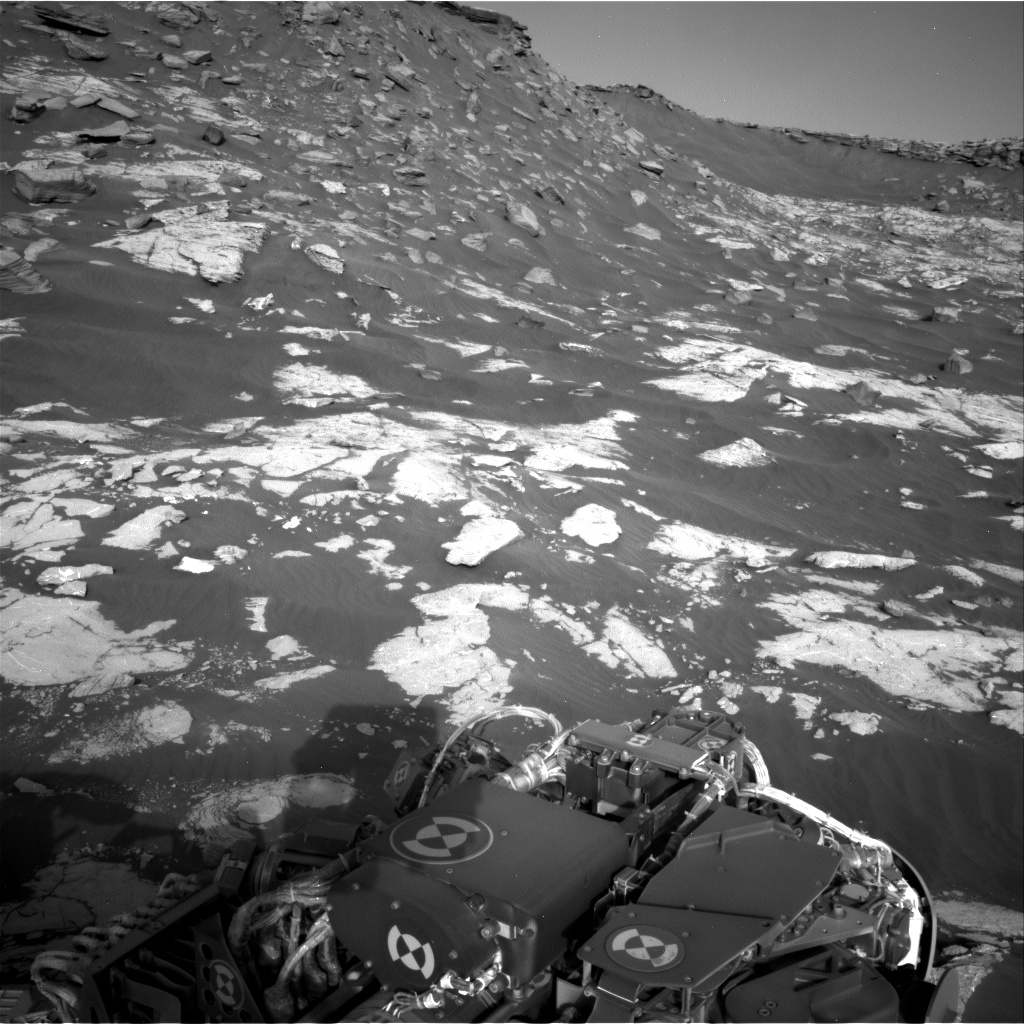 Nasa's Mars rover Curiosity acquired this image using its Right Navigation Camera on Sol 2657, at drive 2228, site number 78