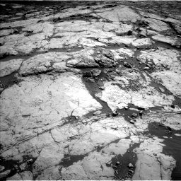Nasa's Mars rover Curiosity acquired this image using its Left Navigation Camera on Sol 2658, at drive 2246, site number 78