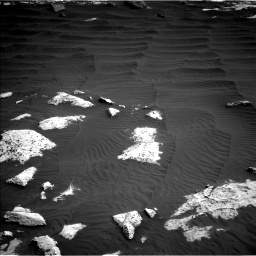 Nasa's Mars rover Curiosity acquired this image using its Left Navigation Camera on Sol 2658, at drive 2336, site number 78