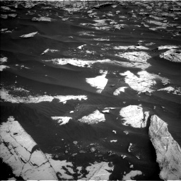 Nasa's Mars rover Curiosity acquired this image using its Left Navigation Camera on Sol 2658, at drive 2360, site number 78