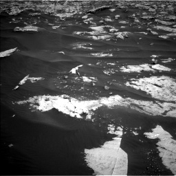 Nasa's Mars rover Curiosity acquired this image using its Left Navigation Camera on Sol 2658, at drive 2390, site number 78