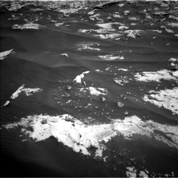 Nasa's Mars rover Curiosity acquired this image using its Left Navigation Camera on Sol 2658, at drive 2396, site number 78