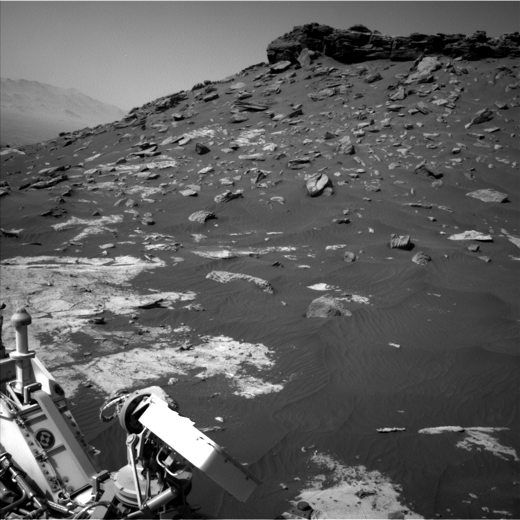 Nasa's Mars rover Curiosity acquired this image using its Left Navigation Camera on Sol 2658, at drive 2444, site number 78