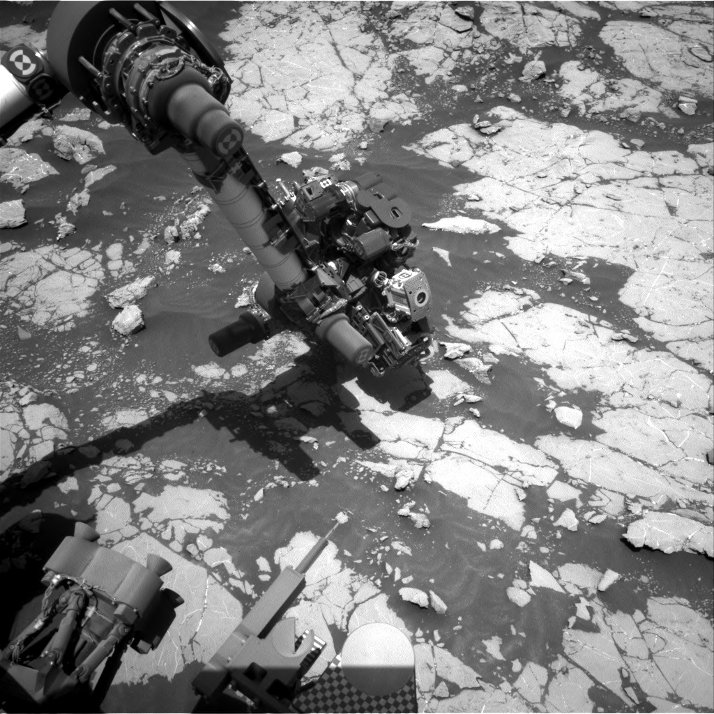 Nasa's Mars rover Curiosity acquired this image using its Right Navigation Camera on Sol 2658, at drive 2228, site number 78