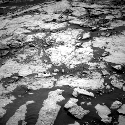 Nasa's Mars rover Curiosity acquired this image using its Right Navigation Camera on Sol 2658, at drive 2234, site number 78