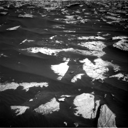 Nasa's Mars rover Curiosity acquired this image using its Right Navigation Camera on Sol 2658, at drive 2366, site number 78