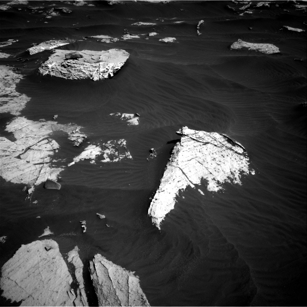Nasa's Mars rover Curiosity acquired this image using its Right Navigation Camera on Sol 2658, at drive 2378, site number 78