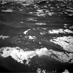Nasa's Mars rover Curiosity acquired this image using its Right Navigation Camera on Sol 2658, at drive 2396, site number 78