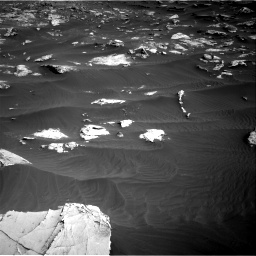 Nasa's Mars rover Curiosity acquired this image using its Right Navigation Camera on Sol 2658, at drive 2438, site number 78