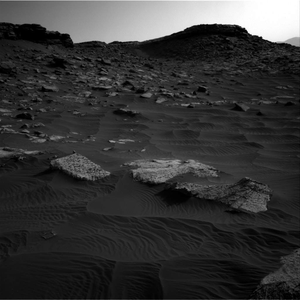 Nasa's Mars rover Curiosity acquired this image using its Right Navigation Camera on Sol 2658, at drive 2444, site number 78