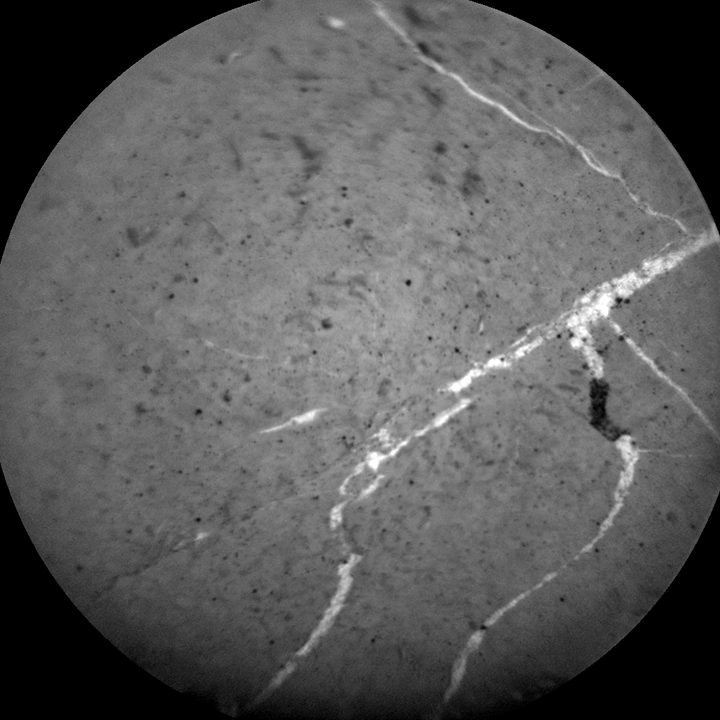 Nasa's Mars rover Curiosity acquired this image using its Chemistry & Camera (ChemCam) on Sol 2658, at drive 2228, site number 78