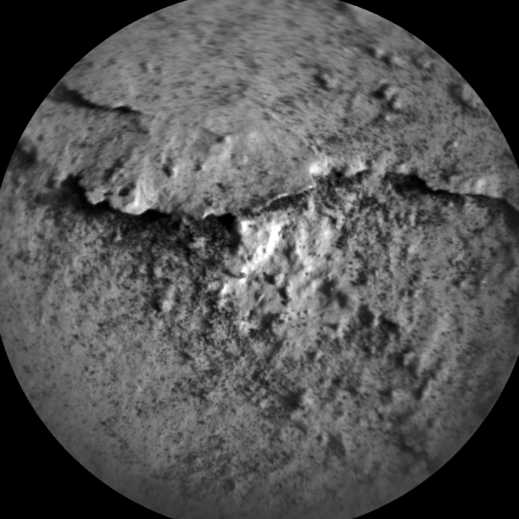 Nasa's Mars rover Curiosity acquired this image using its Chemistry & Camera (ChemCam) on Sol 2658, at drive 2444, site number 78