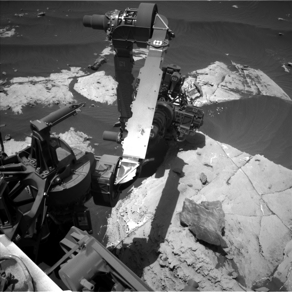 Nasa's Mars rover Curiosity acquired this image using its Left Navigation Camera on Sol 2659, at drive 2444, site number 78