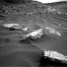 Nasa's Mars rover Curiosity acquired this image using its Left Navigation Camera on Sol 2659, at drive 2468, site number 78