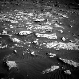 Nasa's Mars rover Curiosity acquired this image using its Left Navigation Camera on Sol 2659, at drive 2546, site number 78