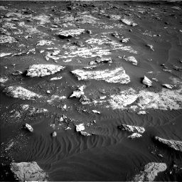 Nasa's Mars rover Curiosity acquired this image using its Left Navigation Camera on Sol 2659, at drive 2552, site number 78