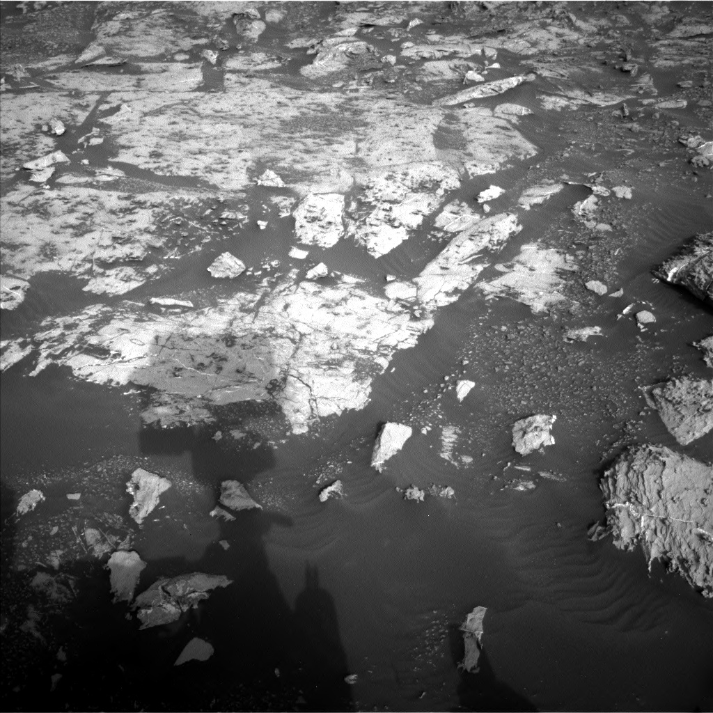 Nasa's Mars rover Curiosity acquired this image using its Left Navigation Camera on Sol 2659, at drive 2612, site number 78