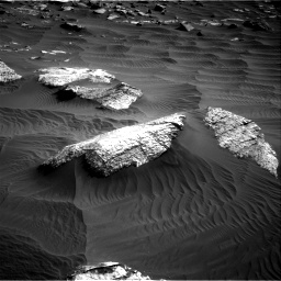 Nasa's Mars rover Curiosity acquired this image using its Right Navigation Camera on Sol 2659, at drive 2456, site number 78