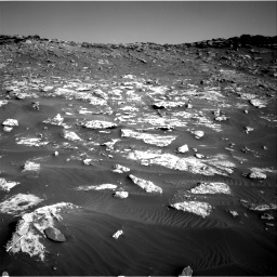 Nasa's Mars rover Curiosity acquired this image using its Right Navigation Camera on Sol 2659, at drive 2510, site number 78