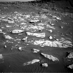 Nasa's Mars rover Curiosity acquired this image using its Right Navigation Camera on Sol 2659, at drive 2540, site number 78