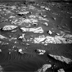 Nasa's Mars rover Curiosity acquired this image using its Right Navigation Camera on Sol 2659, at drive 2552, site number 78