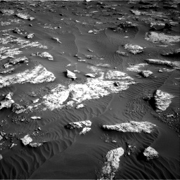 Nasa's Mars rover Curiosity acquired this image using its Right Navigation Camera on Sol 2659, at drive 2570, site number 78
