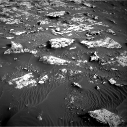 Nasa's Mars rover Curiosity acquired this image using its Right Navigation Camera on Sol 2659, at drive 2582, site number 78