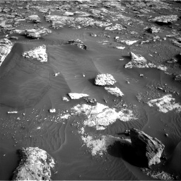Nasa's Mars rover Curiosity acquired this image using its Right Navigation Camera on Sol 2659, at drive 2594, site number 78