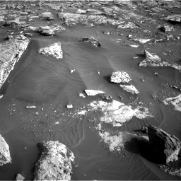 Nasa's Mars rover Curiosity acquired this image using its Right Navigation Camera on Sol 2659, at drive 2600, site number 78