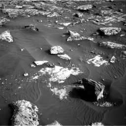 Nasa's Mars rover Curiosity acquired this image using its Right Navigation Camera on Sol 2659, at drive 2618, site number 78