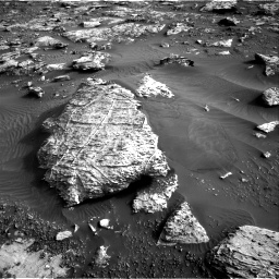 Nasa's Mars rover Curiosity acquired this image using its Right Navigation Camera on Sol 2659, at drive 2654, site number 78