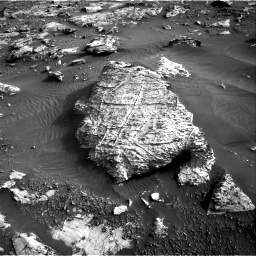 Nasa's Mars rover Curiosity acquired this image using its Right Navigation Camera on Sol 2659, at drive 2660, site number 78