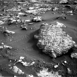 Nasa's Mars rover Curiosity acquired this image using its Right Navigation Camera on Sol 2659, at drive 2666, site number 78