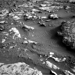 Nasa's Mars rover Curiosity acquired this image using its Right Navigation Camera on Sol 2659, at drive 2672, site number 78