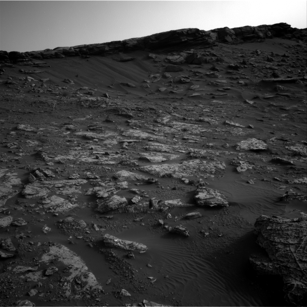 Nasa's Mars rover Curiosity acquired this image using its Right Navigation Camera on Sol 2659, at drive 2684, site number 78
