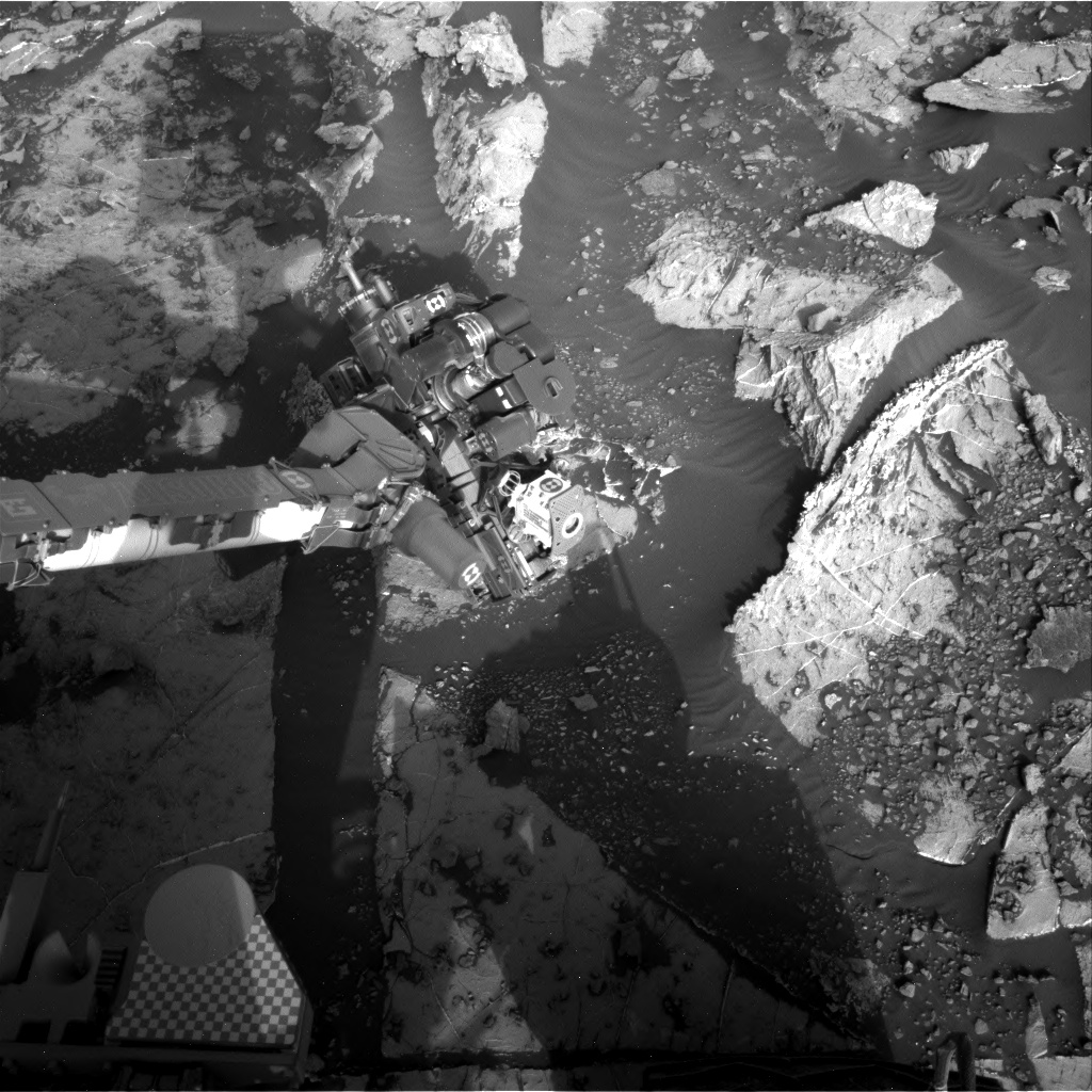 Nasa's Mars rover Curiosity acquired this image using its Right Navigation Camera on Sol 2660, at drive 2684, site number 78