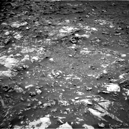 Nasa's Mars rover Curiosity acquired this image using its Left Navigation Camera on Sol 2661, at drive 2732, site number 78