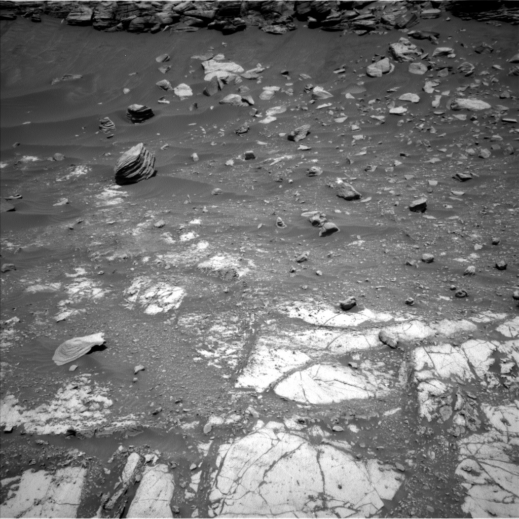 Nasa's Mars rover Curiosity acquired this image using its Left Navigation Camera on Sol 2661, at drive 2738, site number 78