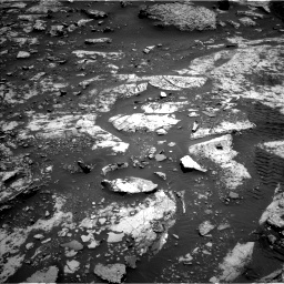 Nasa's Mars rover Curiosity acquired this image using its Left Navigation Camera on Sol 2661, at drive 2774, site number 78
