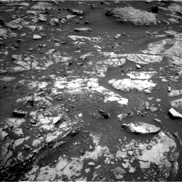 Nasa's Mars rover Curiosity acquired this image using its Left Navigation Camera on Sol 2661, at drive 2780, site number 78