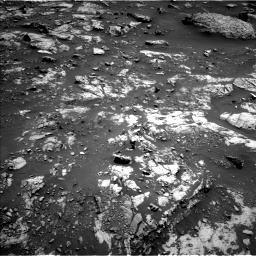 Nasa's Mars rover Curiosity acquired this image using its Left Navigation Camera on Sol 2661, at drive 2786, site number 78