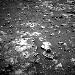 Nasa's Mars rover Curiosity acquired this image using its Left Navigation Camera on Sol 2661, at drive 2816, site number 78