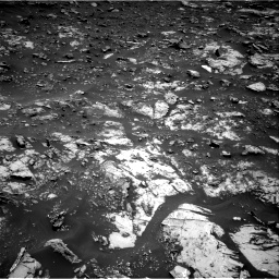 Nasa's Mars rover Curiosity acquired this image using its Right Navigation Camera on Sol 2661, at drive 2702, site number 78