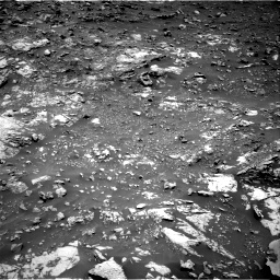 Nasa's Mars rover Curiosity acquired this image using its Right Navigation Camera on Sol 2661, at drive 2738, site number 78