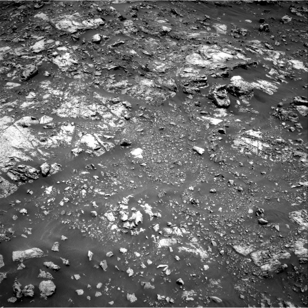 Nasa's Mars rover Curiosity acquired this image using its Right Navigation Camera on Sol 2661, at drive 2780, site number 78