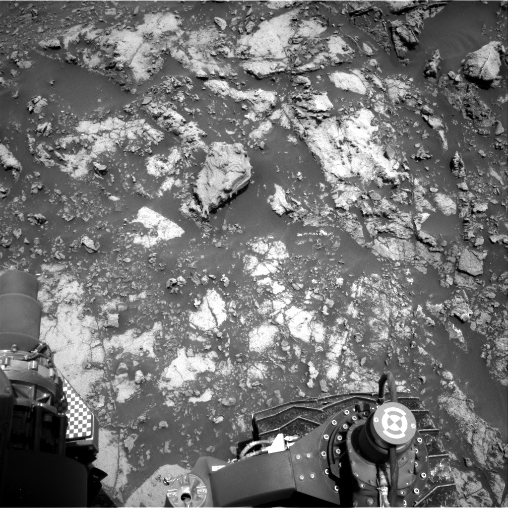 Nasa's Mars rover Curiosity acquired this image using its Right Navigation Camera on Sol 2661, at drive 2816, site number 78